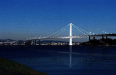 Artist's Rendition of New Bay Bridge