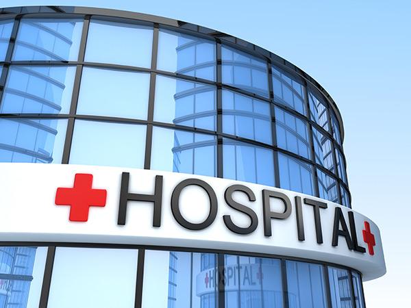 Скачать Здание больницы картинки 1024x768 px