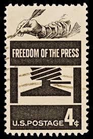 Freedom of Press stamp