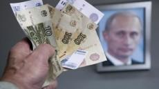 Ruble-Putin