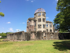 The A-Bomb Dome at the Hiroshima Peace Memorial Park