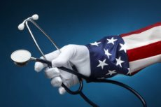 8571668 - uncle sam holding a stethescope