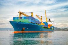 36760755 - merchant container ship