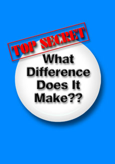 61032837 - what difference dose it make with top secret sign.