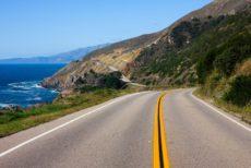 11419595 - highway through california coast