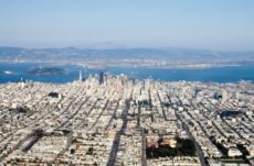 887239 - aerial view of downtown san francisco, california